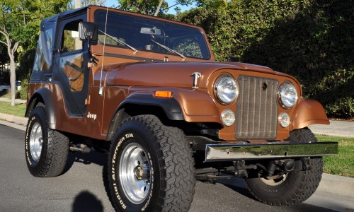 79 Jeep CJ5 – 5K Miles unrestored like new