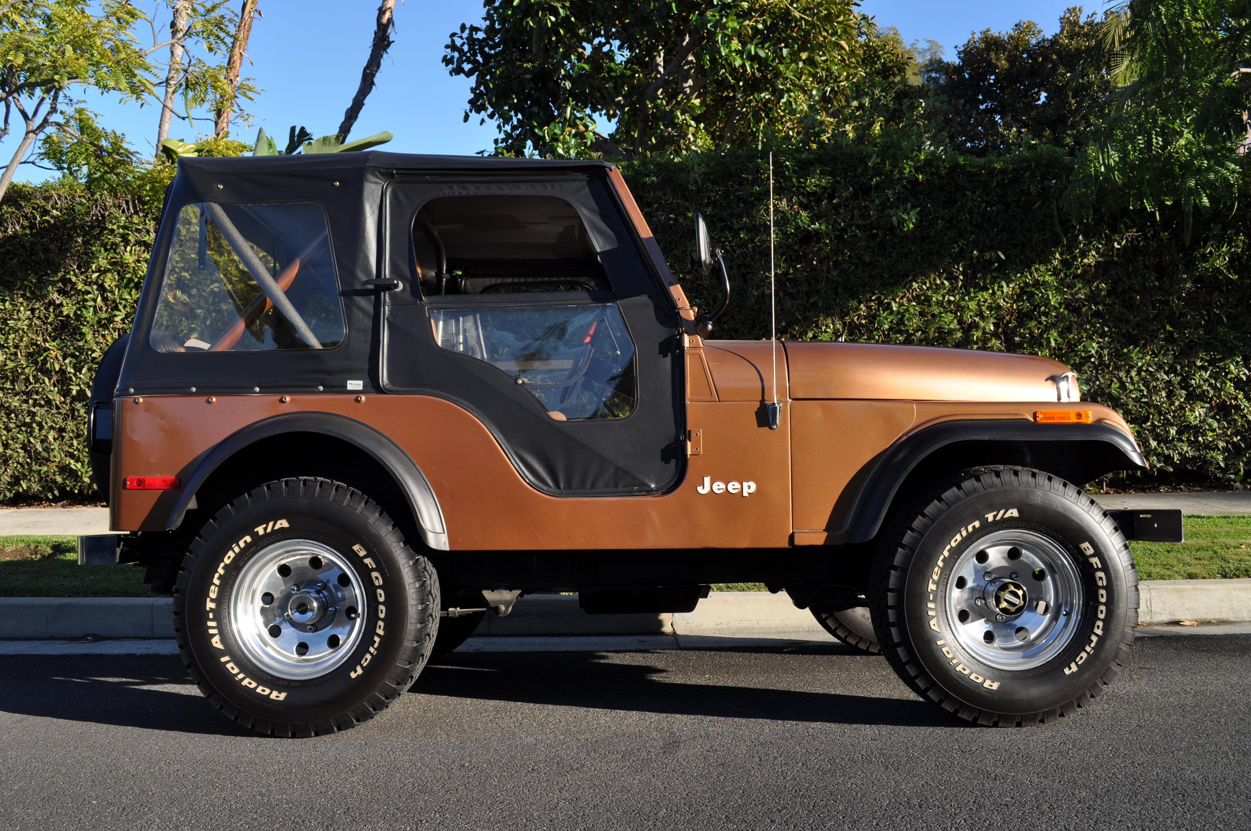 79 Jeep CJ5 – 5K Miles Deal Pending