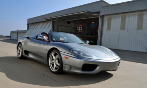 2003 Ferrari 360 Spider Stick Shift