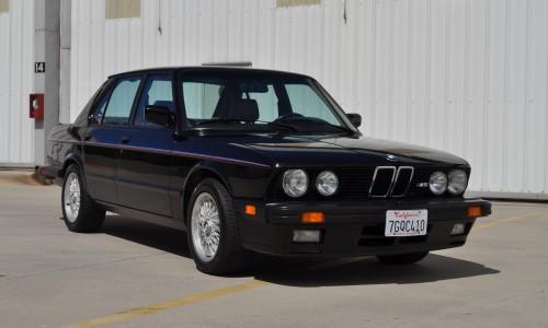 88 BMW M5 – E28 Amazing Original Condition